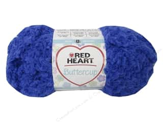 Pom Poms Blue: Coats & Clark Red Heart Buttercup Yarn 1.76oz Blue Moon