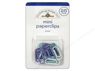 Doodlebug Frosty Friends Mini Paperclips Winter