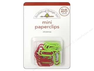 Office Christmas: Doodlebug Santa Express Collection Mini Paperclips Christmas