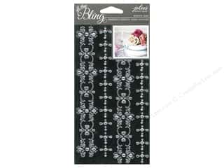 EK Jolee's Boutique Bling Gems Wed Border Clear