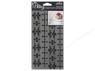 EK Jolee's Boutique Bling Gems Wed Border Black