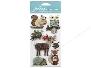 This & That Animals: EK Jolee's Boutique Woodland Animals