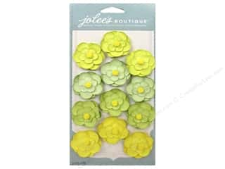 paper dimensions: EK Jolee's Boutique Repeat Paper Flowers Green