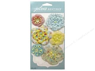Flowers paper dimensions: EK Jolee's Boutique Paper Flowers Prints Bold