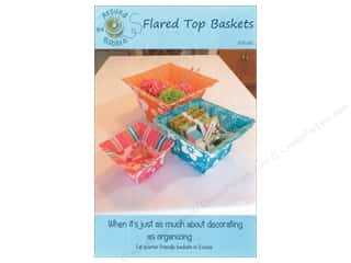Yesterday's Charm Home Decor Patterns: Around The Bobbin Flared Top Basket Pattern