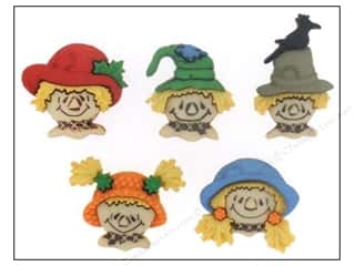 Craft Embellishments Jesse James Embellishments: Jesse James Embellishments Scarecrow Faces