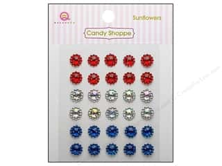 Independence Day $10 - $64: Queen&Co Sticker Candy Shoppe Sunflowers Gem Patriotic