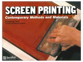 Printing Books & Patterns: Speedball Screen Printing Textbook Book
