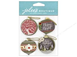 EK Success EK Jolee's Stickers: EK Jolee's Boutique Ornaments