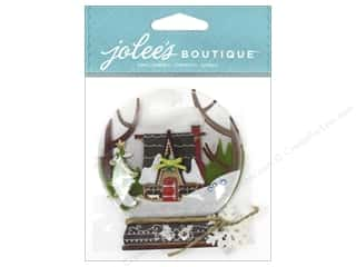Stickers EK Jolee's Boutique: EK Jolee's Boutique Snow Globe Scene