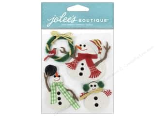 EK Success EK Jolee's Stickers: EK Jolee's Boutique Snowmen
