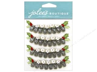 Craft Embellishments Holiday Sale: EK Jolee's Boutique Repeat Happy Holiday