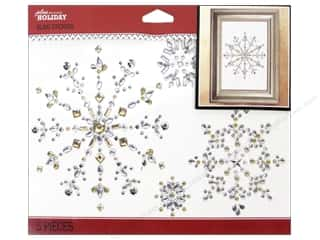 Christmas paper dimensions: EK Jolee's Boutique Holiday Bling Icons