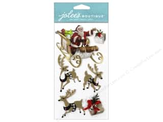 Stickers EK Jolee's Boutique: EK Jolee's Boutique Santa & Sleigh