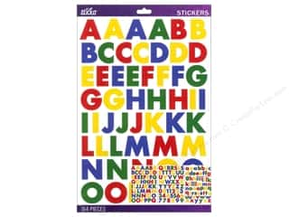 EK Sticko Alphabet Stickers Bold Large Futura Primary