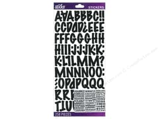 Stickers Alphabet Stickers / Number Stickers: EK Sticko Alphabet Stickers Marker Medium Black