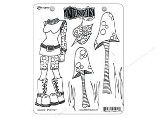 7 Gypsies Stamp Sets: Ranger Stamp Dylusions Cling Shrooms
