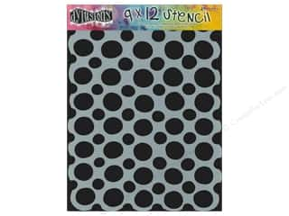 "Craft & Hobbies Stencils: Ranger Stencil Dylusions 9""x 12"" Circles"