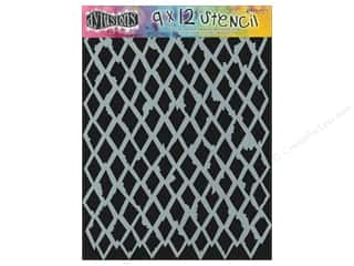 "Ranger Craft & Hobbies: Ranger Stencil Dylusions 9""x 12"" Diamond"