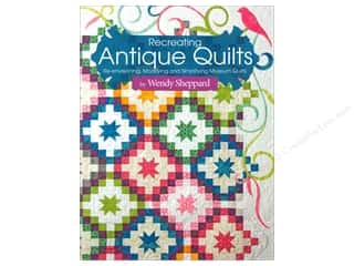 Quilting Books & Patterns: Landauer Recreating Antique Quilts Book
