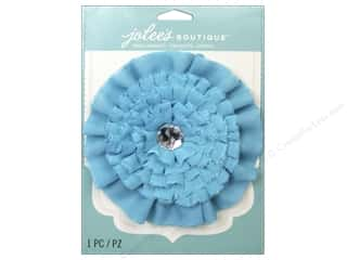 EK Jolee's Boutique Le Fleur Flower Lg/Gem Blue