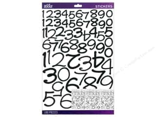 Stickers Alphabet Stickers / Number Stickers: EK Sticko Number Stickers Value Pack Wendy Black