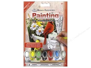 Royal Rub Ons Royal Paint By Number: Royal Paint By Number Mini Garden Birds