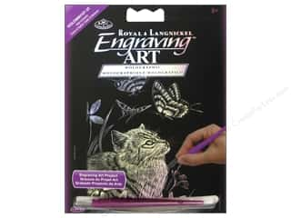 Rub-Ons Tool Sets: Royal Engraving Art Mini Kitten & Butterfly