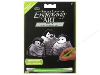 Rub-Ons Tool Sets: Royal Engraving Art Mini Penguin Chicks