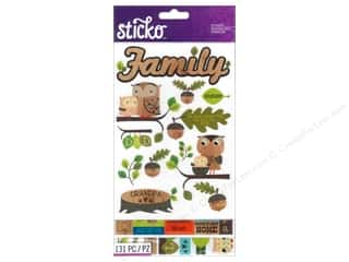 Family Stickers: EK Sticko Stickers Flip Pack Family