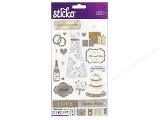 theme stickers  wedding: EK Sticko Stickers Flip Pack Wedding