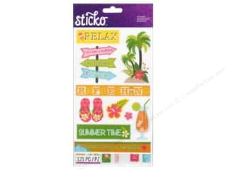 Vacations Hot: EK Sticko Stickers Flip Pack Summer