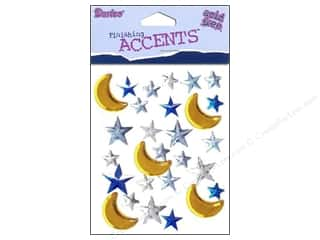 Darice Stick On Rhinestones Moon and Stars 28pc