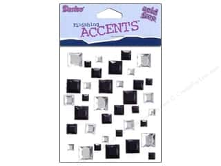 Acrylic Shape Wedding: Darice Stick On Rhinestones Squares 4 37pc