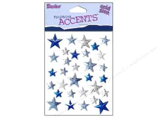Darice Stick On Rhinestones Stars 31pc