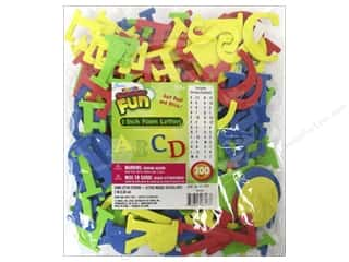 Darice Foamies Alphabet Stickers 200 pc. Primary