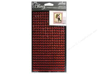EK Jolee's Boutique Bling Sheet Red