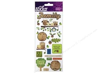 Generations Gifts: EK Sticko Stickers Icons & Words Large Family
