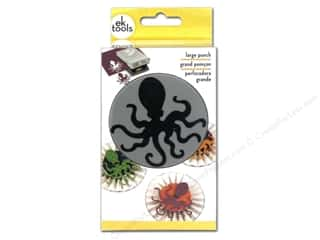 Beach & Nautical $0 - $2: EK Paper Shapers Large Punch Octopus