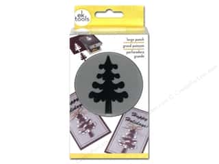Punches Christmas: EK Paper Shapers Large Punch Forest Tree
