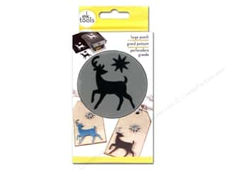 Christmas: EK Paper Shapers Large Punch Elegant Deer