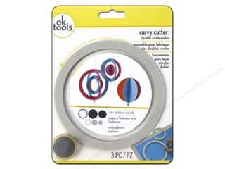 Paper Trimmers / Paper Cutters $0 - $5: EK Tool Ornament Cutter Double Circle