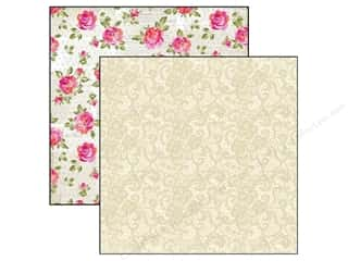 "Marion Smith Posh Collection Paper 12""x 12"" Chic Lace Picture"