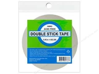 "Glues, Adhesives & Tapes $1 - $3: Heiko Double Stick Tape 1/4""x 65.5'"