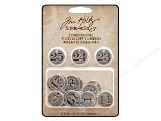 ABC & 123 Dads & Grads: Tim Holtz Idea-ology Countdown Coins