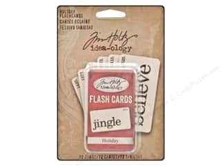 Tim Holtz Idea-ology Flash Cards Holiday