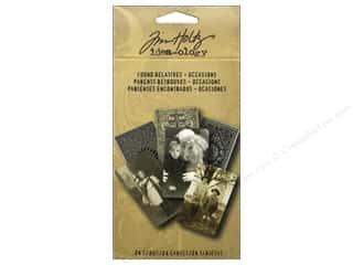 Tim Holtz Paper Die Cuts / Paper Shapes: Tim Holtz Idea-ology Found Relatives Occasions