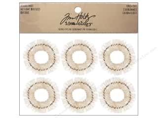 Miniatures / Scene Miniatures Red: Tim Holtz Idea-ology Wreaths Woodlands
