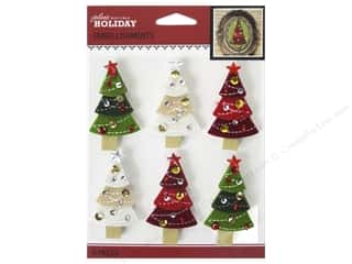 theme stickers  holidays: Jolee's Boutique Stickers Holiday Christmas Trees Repeat