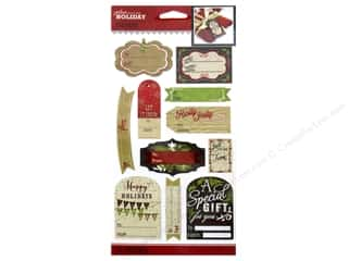 Holiday Gift Idea Sale: Jolee's Boutique Stickers Holiday To From Label